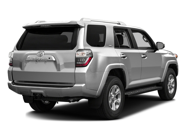 Classic Silver Metallic 2016 Toyota 4Runner Pictures 4Runner Utility 4D SR5 2WD V6 photos rear view