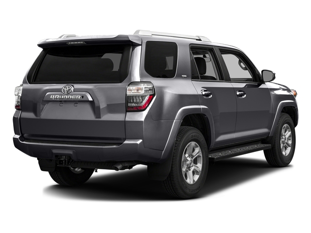 Magnetic Gray Metallic 2016 Toyota 4Runner Pictures 4Runner Utility 4D SR5 2WD V6 photos rear view