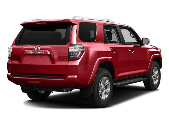 Barcelona Red Metallic 2016 Toyota 4Runner Pictures 4Runner Utility 4D SR5 2WD V6 photos rear view