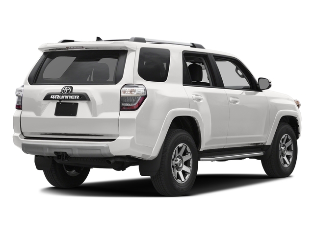 Super White 2016 Toyota 4Runner Pictures 4Runner Utility 4D Trail Edition 4WD V6 photos rear view