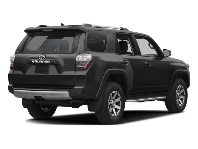 Magnetic Gray Metallic 2016 Toyota 4Runner Pictures 4Runner Utility 4D Trail Edition 4WD V6 photos rear view