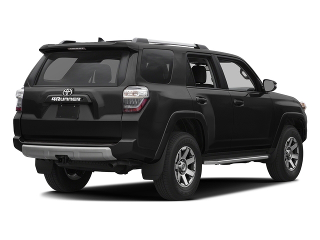 Midnight Black Metallic 2016 Toyota 4Runner Pictures 4Runner Utility 4D Trail Edition 4WD V6 photos rear view