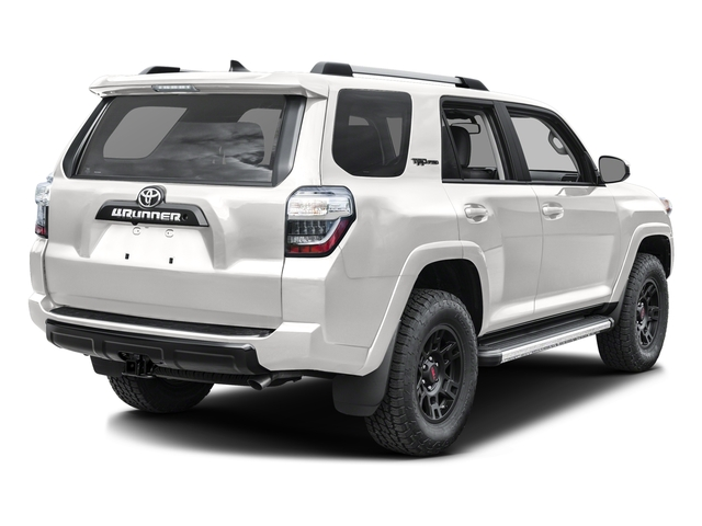 Super White 2016 Toyota 4Runner Pictures 4Runner Utility 4D TRD Pro 4WD V6 photos rear view