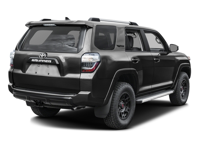 Magnetic Gray Metallic 2016 Toyota 4Runner Pictures 4Runner Utility 4D TRD Pro 4WD V6 photos rear view
