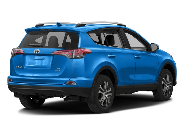 Electric Storm Blue 2016 Toyota RAV4 Pictures RAV4 Utility 4D LE 2WD I4 photos rear view