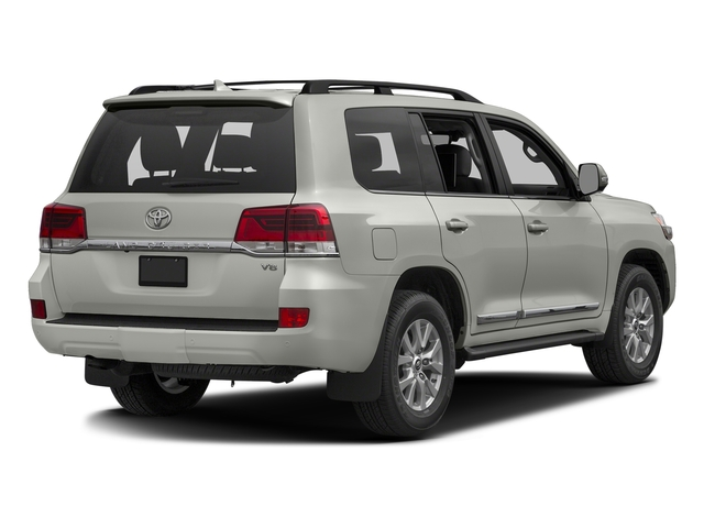 Classic Silver Metallic 2016 Toyota Land Cruiser Pictures Land Cruiser Utility 4D 4WD V8 photos rear view