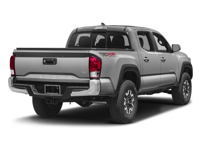 Silver Sky Metallic 2016 Toyota Tacoma Pictures Tacoma TRD Off-Road Crew Cab 2WD V6 photos rear view