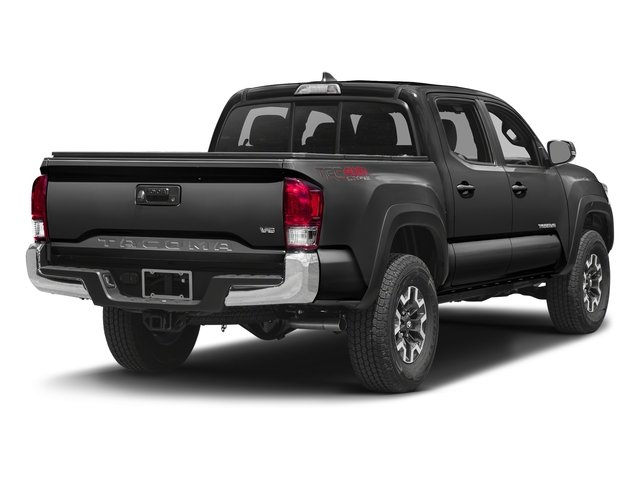 Magnetic Gray Metallic 2016 Toyota Tacoma Pictures Tacoma TRD Off-Road Crew Cab 2WD V6 photos rear view