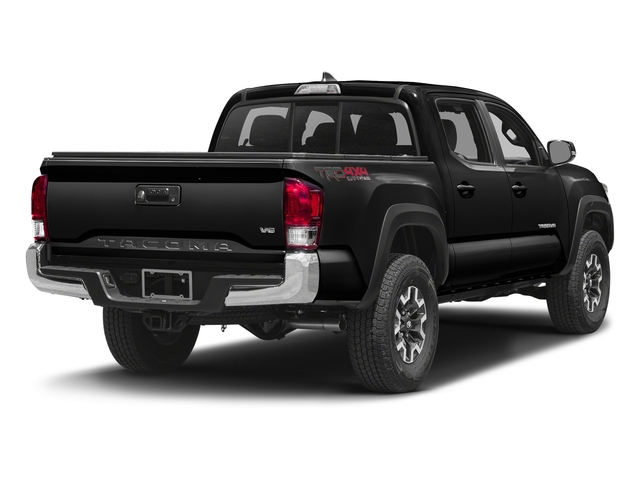 Black 2016 Toyota Tacoma Pictures Tacoma TRD Off-Road Crew Cab 2WD V6 photos rear view