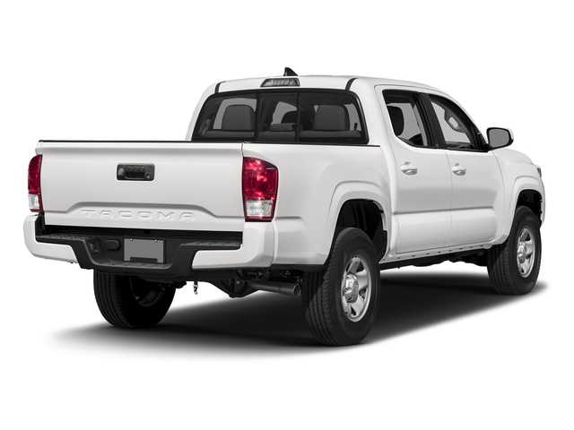 Super White 2016 Toyota Tacoma Pictures Tacoma SR Crew Cab 4WD V6 photos rear view