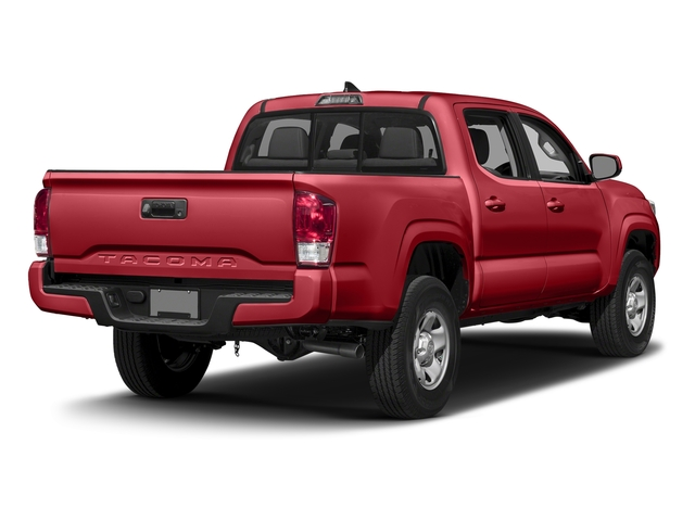 Barcelona Red Metallic 2016 Toyota Tacoma Pictures Tacoma SR Crew Cab 4WD V6 photos rear view
