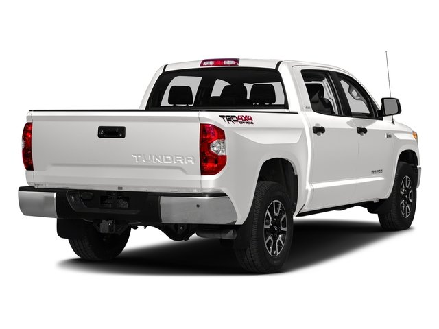 Super White 2016 Toyota Tundra 2WD Truck Pictures Tundra 2WD Truck SR5 CrewMax 2WD photos rear view