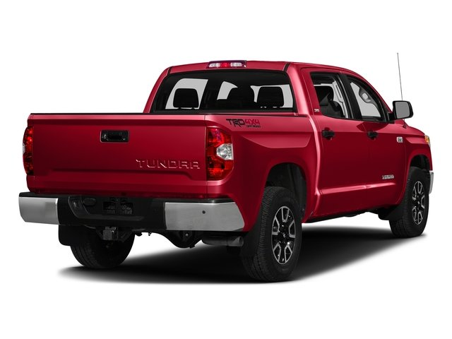 Radiant Red 2016 Toyota Tundra 2WD Truck Pictures Tundra 2WD Truck SR5 CrewMax 2WD photos rear view