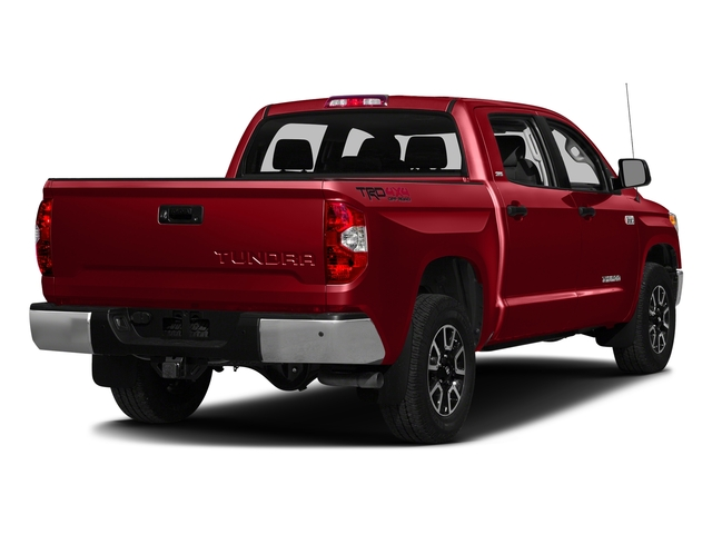 Barcelona Red Metallic 2016 Toyota Tundra 2WD Truck Pictures Tundra 2WD Truck SR5 CrewMax 2WD photos rear view