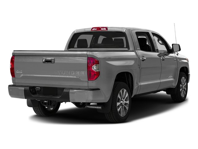 Silver Sky Metallic 2016 Toyota Tundra 2WD Truck Pictures Tundra 2WD Truck Limited CrewMax 2WD photos rear view