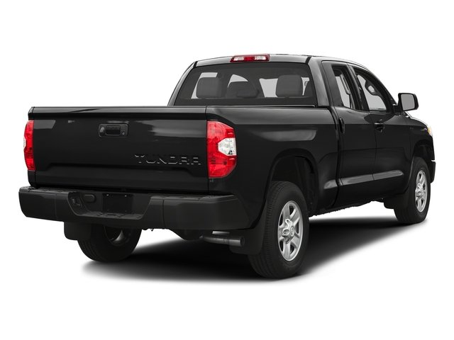Black 2016 Toyota Tundra 2WD Truck Pictures Tundra 2WD Truck SR Double Cab 2WD photos rear view