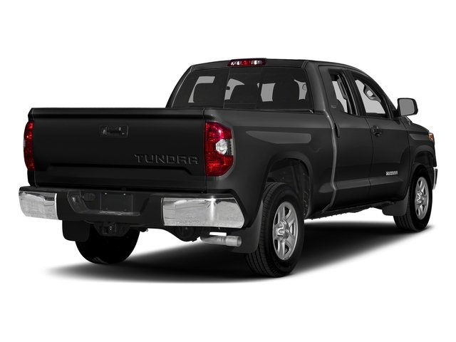 Black 2016 Toyota Tundra 4WD Truck Pictures Tundra 4WD Truck SR5 Double Cab 4WD photos rear view