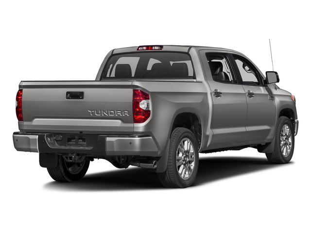 Silver Sky Metallic 2016 Toyota Tundra 2WD Truck Pictures Tundra 2WD Truck Platinum CrewMax 2WD photos rear view