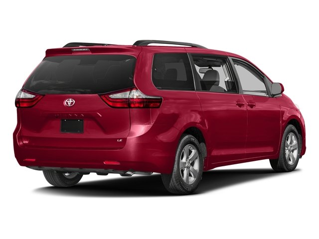 Salsa Red Pearl 2016 Toyota Sienna Pictures Sienna Wagon 5D LE V6 photos rear view