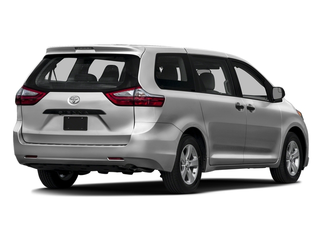Silver Sky Metallic 2016 Toyota Sienna Pictures Sienna Wagon 5D L V6 photos rear view