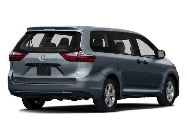 Shoreline Blue Pearl 2016 Toyota Sienna Pictures Sienna Wagon 5D L V6 photos rear view