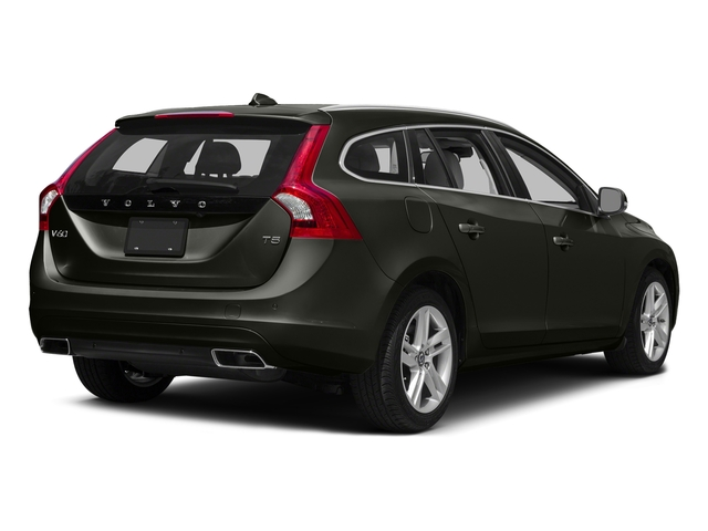 Savile Gray Metallic 2016 Volvo V60 Pictures V60 Wagon 4D T5 Premier AWD Turbo photos rear view