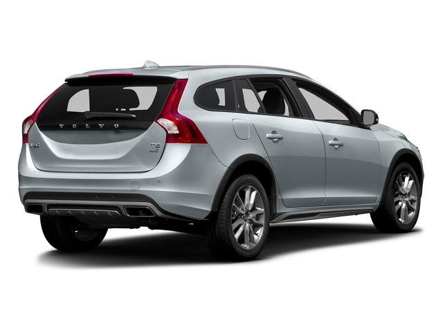 Ice White 2016 Volvo V60 Cross Country Pictures V60 Cross Country Wagon 4D T5 AWD I5 Turbo photos rear view