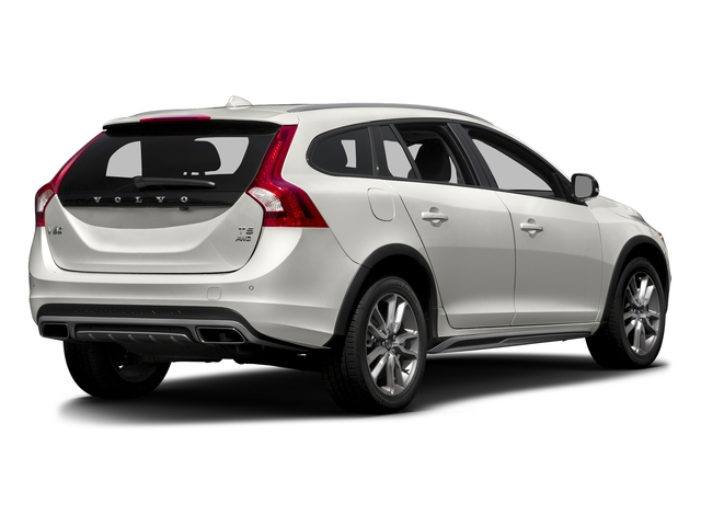 Crystal White Pearl 2016 Volvo V60 Cross Country Pictures V60 Cross Country Wagon 4D T5 AWD I5 Turbo photos rear view