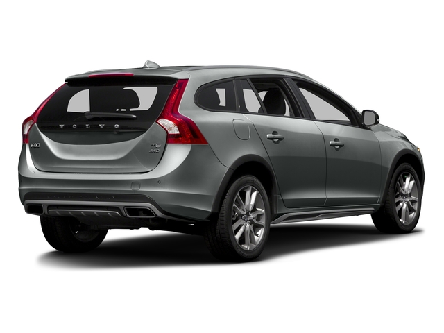 Osmium Grey Metallic 2016 Volvo V60 Cross Country Pictures V60 Cross Country Wagon 4D T5 AWD I5 Turbo photos rear view