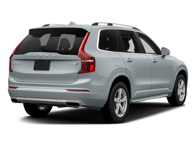 Ice White 2016 Volvo XC90 Pictures XC90 Util 4D T5 Momentum AWD I4 Turbo photos rear view