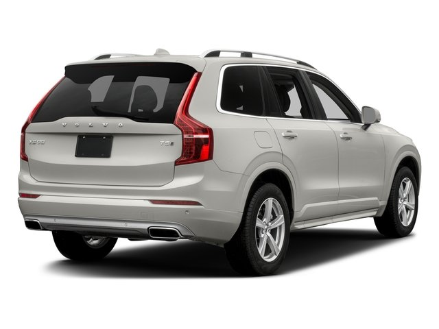 Crystal White Pearl 2016 Volvo XC90 Pictures XC90 Util 4D T5 Momentum AWD I4 Turbo photos rear view