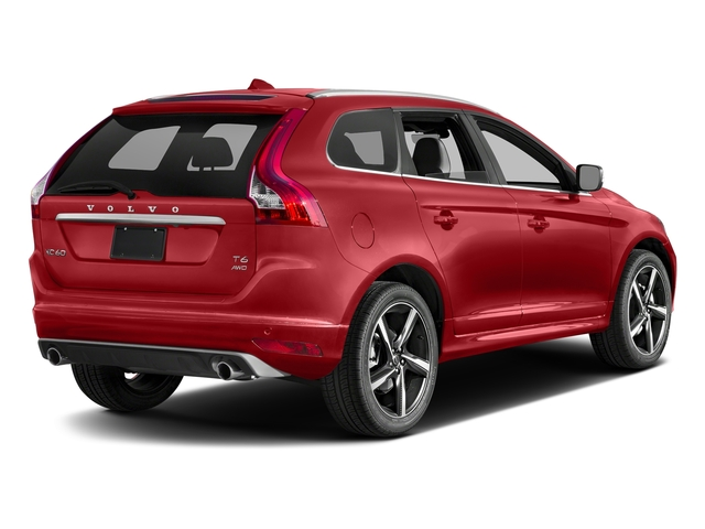 Passion Red 2016 Volvo XC60 Pictures XC60 Util 4D T6 R-Design AWD I6 Turbo photos rear view