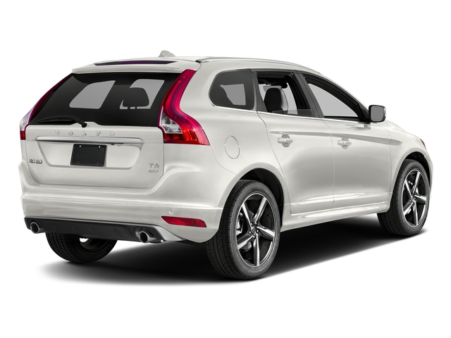 Crystal White Pearl 2016 Volvo XC60 Pictures XC60 Util 4D T6 R-Design AWD I6 Turbo photos rear view