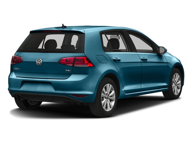 Silk Blue Metallic 2016 Volkswagen Golf Pictures Golf Hatchback 4D S I4 Turbo photos rear view
