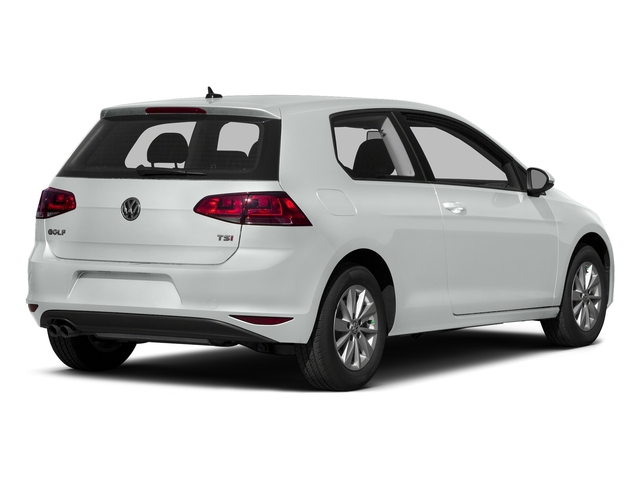 Pure White 2016 Volkswagen Golf Pictures Golf Hatchback 2D I4 Turbo photos rear view