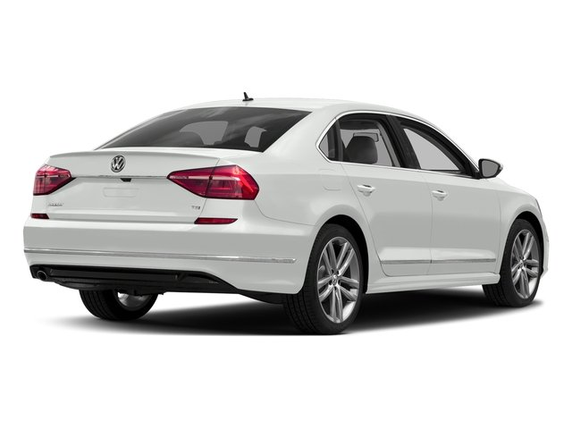 Pure White 2016 Volkswagen Passat Pictures Passat Sedan 4D R-Line I4 Turbo photos rear view