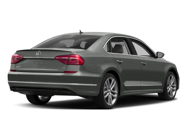 Platinum Gray Metallic 2016 Volkswagen Passat Pictures Passat Sedan 4D R-Line I4 Turbo photos rear view