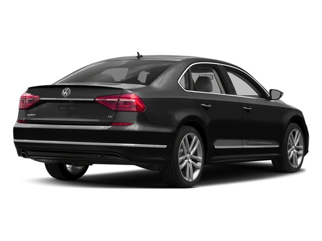 Black Uni 2016 Volkswagen Passat Pictures Passat Sedan 4D R-Line I4 Turbo photos rear view