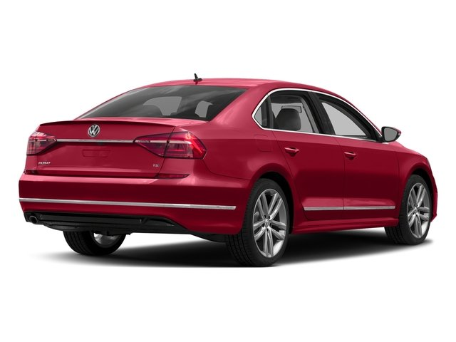 Fortana Red 2016 Volkswagen Passat Pictures Passat Sedan 4D R-Line I4 Turbo photos rear view