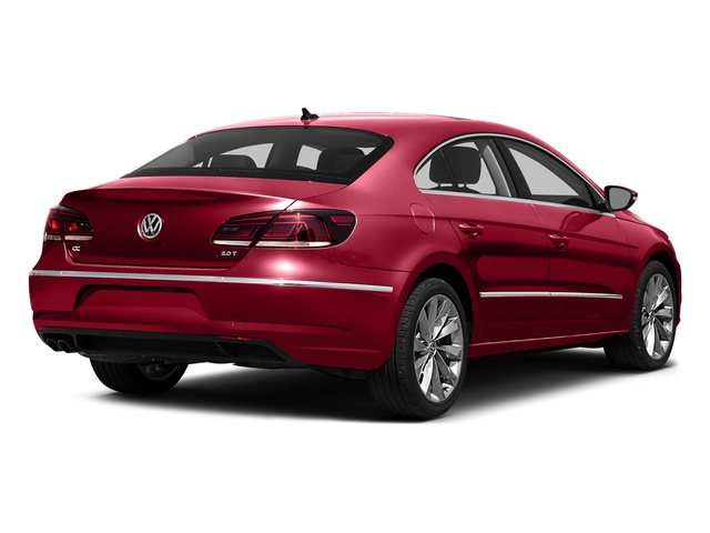 Fortana Red 2016 Volkswagen CC Pictures CC Sedan 4D Trend I4 Turbo photos rear view