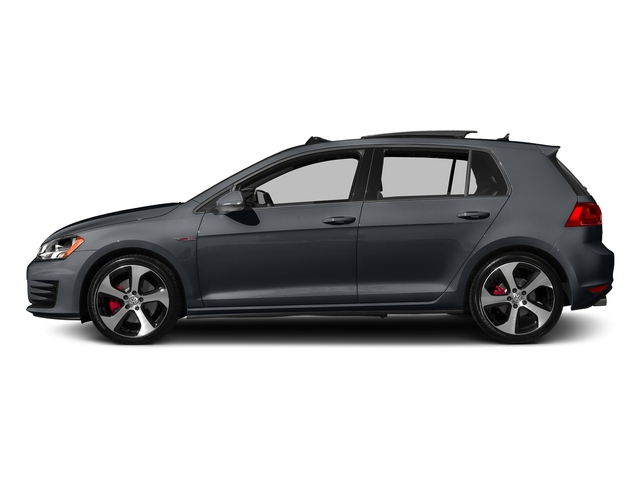 Carbon Steel Gray Metallic 2016 Volkswagen Golf GTI Pictures Golf GTI Hatchback 4D S I4 Turbo photos rear view