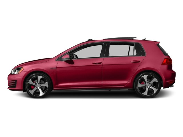 Tornado Red 2016 Volkswagen Golf GTI Pictures Golf GTI Hatchback 4D S I4 Turbo photos rear view