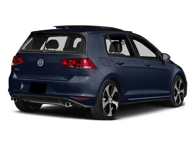Night Blue Metallic 2016 Volkswagen Golf GTI Pictures Golf GTI Hatchback 4D S I4 Turbo photos rear view