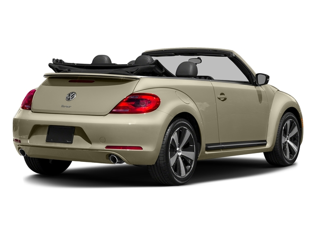 Moonrock Silver Metallic/Black Roof 2016 Volkswagen Beetle Convertible Pictures Beetle Convertible Convertible 2D SEL I4 Turbo photos rear view