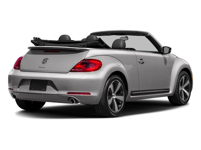 Reflex Silver Metallic/Black Roof 2016 Volkswagen Beetle Convertible Pictures Beetle Convertible Convertible 2D SEL I4 Turbo photos rear view