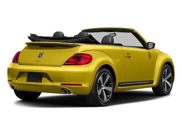Yellow Rush/Black Roof 2016 Volkswagen Beetle Convertible Pictures Beetle Convertible Convertible 2D SEL I4 Turbo photos rear view