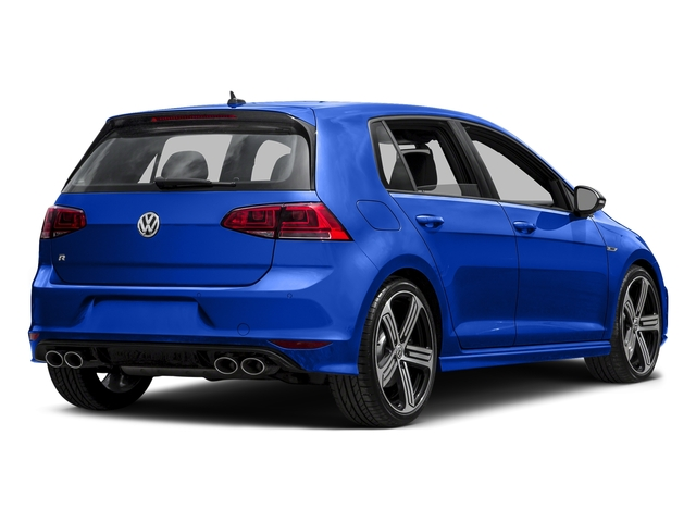 Lapiz Blue Metallic 2016 Volkswagen Golf R Pictures Golf R Hatchback 4D R AWD I4 Turbo photos rear view