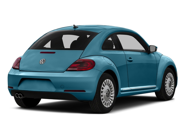 Silk Blue Metallic 2016 Volkswagen Beetle Coupe Pictures Beetle Coupe 2D R-Line SEL I4 Turbo photos rear view