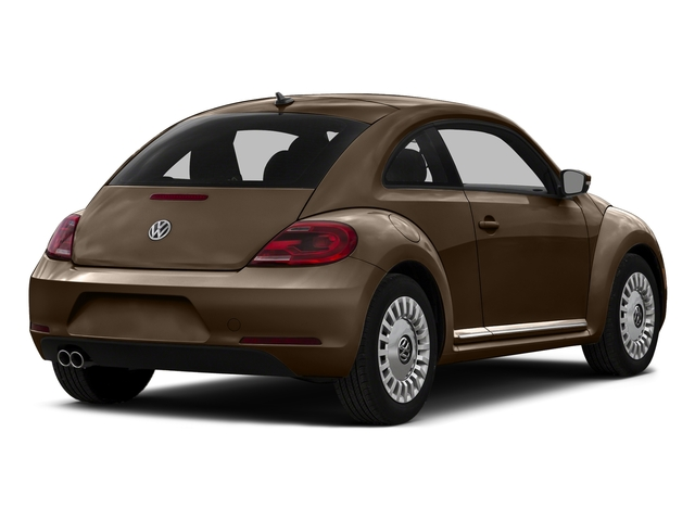 Dark Bronze Metallic 2016 Volkswagen Beetle Coupe Pictures Beetle Coupe 2D SE I4 Turbo photos rear view