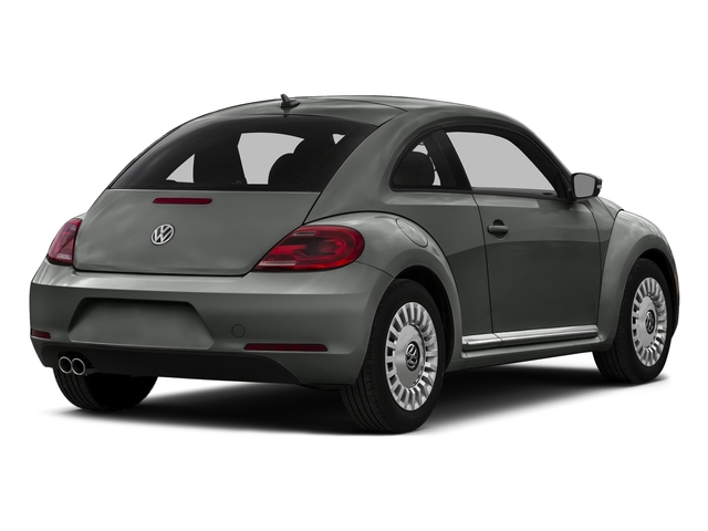 Platinum Gray Metallic 2016 Volkswagen Beetle Coupe Pictures Beetle Coupe 2D R-Line SEL I4 Turbo photos rear view